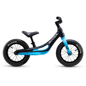 s'cool pedeX Magnesium Kids black/cyan blue matt